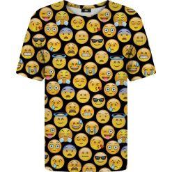 T-shirty damskie: T-shirt ze wzorem Emoji