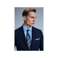 Garnitur Stellenbosch. Niebieskie garnitury Guns&tuxedos, w prążki. Za 499,99 zł.