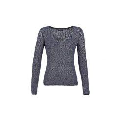 Swetry Marc O'Polo  GROFLA. Niebieskie swetry klasyczne damskie marki BOTD, l. Za 455,20 zł.