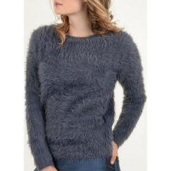 Kardigany damskie: Sweter z długim włosem i długim rękawem