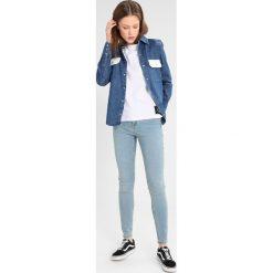 Calvin Klein Jeans WESTERN LEAN Koszula dark blue/white. Niebieskie koszule jeansowe damskie marki Calvin Klein Jeans, xs. W wyprzedaży za 479,20 zł.