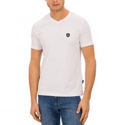 T-shirt w kolorze białym. Białe t-shirty męskie GALVANNI, m. W wyprzedaży za 84,95 zł.