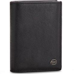 Duży Portfel Męski PIQUADRO - PU1740B3R/N Czarny. Czarne portfele męskie marki Piquadro, ze skóry. Za 479,00 zł.