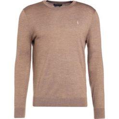 Polo Ralph Lauren Sweter honey brown heather. Brązowe swetry klasyczne męskie marki Polo Ralph Lauren, m, z materiału, polo. W wyprzedaży za 412,30 zł.