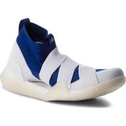 Buty adidas - PureBoost X Trainer 3.0 LL DA8963  Ashsil/Clemin/Shoyel. Niebieskie buty do fitnessu damskie marki Salomon, z gore-texu, na sznurówki, gore-tex. W wyprzedaży za 449,00 zł.