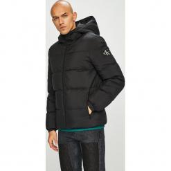 Calvin Klein Jeans - Kurtka puchowa. Czarne kurtki męskie bomber Calvin Klein Jeans, l, z jeansu. Za 999,90 zł.
