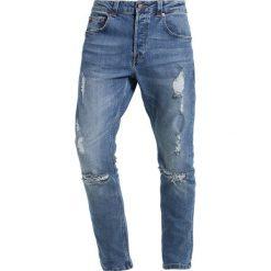 Only & Sons ONSCARROT Jeans Skinny Fit medium blue denim. Niebieskie jeansy męskie marki Only & Sons. W wyprzedaży za 188,10 zł.