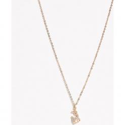Świąteczny naszyjnik - Beżowy. Brązowe naszyjniki damskie Sinsay. Za 9,99 zł.