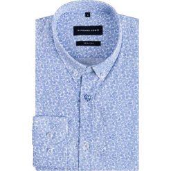 Koszula SIMONE KDWR000227. Czarne koszule męskie na spinki marki TOM TAILOR DENIM, l, z bawełny, button down, z długim rękawem. Za 199,00 zł.