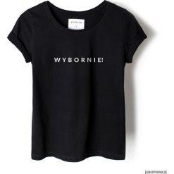 Bluzki, topy, tuniki: T-shirt czarny WYBORNIE!