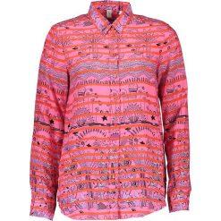 Topy sportowe damskie: Bluzka – Comfort fit – w kolorze różowym