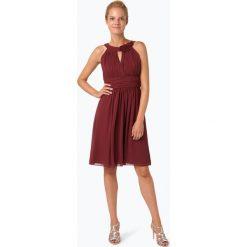 Odzież damska: Marie Lund – Elegancka sukienka damska, czerwony