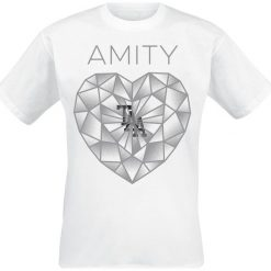 The Amity Affliction Diamond Heart T-Shirt biały. Czarne t-shirty męskie marki Caliban, s. Za 62,90 zł.