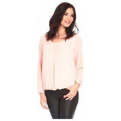 La Belle Parisienne Bluzka Damska Shanon S Jasnoróżowa. Czarne bluzki z odkrytymi ramionami marki Fille Du Couturier, z bawełny. Za 125,00 zł.