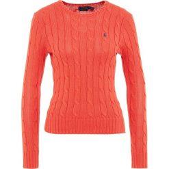 Swetry klasyczne damskie: Polo Ralph Lauren JULIANNA Sweter tomato