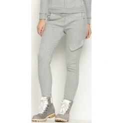 Spodnie dresowe damskie: Szare Spodnie Dresowe Inner Smile