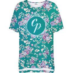 Colour Pleasure Koszulka damska CP-033 261 zielono-różowa r. uniwersalny. Czerwone bluzki damskie marki Colour pleasure, uniwersalny. Za 76,57 zł.