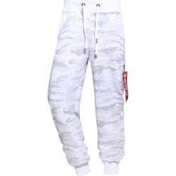 Spodnie dresowe męskie: Alpha Industries X FIT PANT Spodnie treningowe white