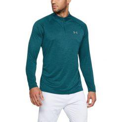 Bluzy męskie: Under Armour Bluza męska Tech 1/4 Zip zielona r. L (1242220-716)