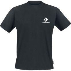 T-shirty męskie: Converse Star Chevron Left Chest Tee T-Shirt czarny