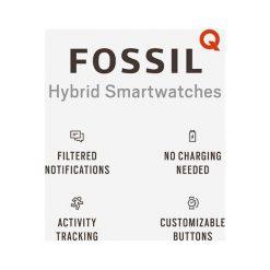 Fossil Q Q MACHINE Zegarek grau. Szare, analogowe zegarki męskie Fossil Q. Za 839,00 zł.
