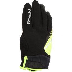 Rękawiczki damskie: Roeckl Sports RODEN Rękawiczki pięciopalcowe schwarz/gelb