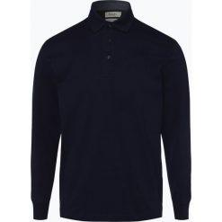 Mc Earl - Męska koszulka polo, niebieski. Niebieskie koszulki polo Mc Earl, l, z bawełny, z długim rękawem. Za 119,95 zł.