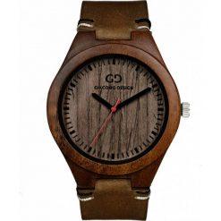 Zegarek Giacomo Design Drewniany męski GD08014. Brązowe zegarki męskie Giacomo Design. Za 359,00 zł.