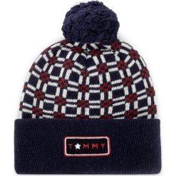 Czapka TOMMY HILFIGER - Oversized Beanie AW0AW04403 902. Czarne czapki zimowe damskie marki INOVIK, z elastanu. W wyprzedaży za 189,00 zł.