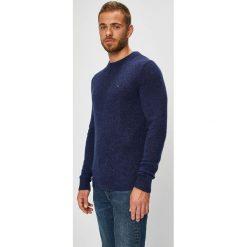 Tommy Hilfiger - Sweter. Czarne swetry klasyczne męskie marki TOMMY HILFIGER, l, z dzianiny. Za 399,90 zł.