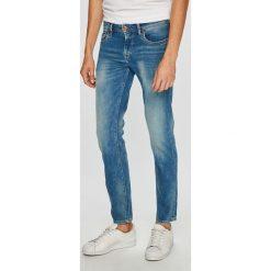 Pepe Jeans - Jeansy Hatch. Niebieskie jeansy męskie slim Pepe Jeans, z bawełny. W wyprzedaży za 259,90 zł.