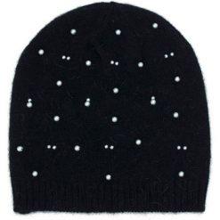 Czapka damska Pearls czarna. Czarne czapki zimowe damskie marki BIG STAR, z gumy. Za 53,11 zł.