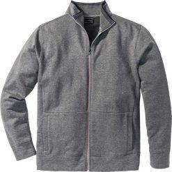 Bluza rozpinana Regular Fit bonprix szary melanż. Czerwone bluzy męskie rozpinane marki KALENJI, m, z elastanu, z długim rękawem, długie. Za 59,99 zł.