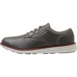Columbia IRVINGTON OXFORD Obuwie hikingowe graphite/deep rust. Szare buty sportowe męskie Columbia, z materiału, outdoorowe. W wyprzedaży za 349,30 zł.