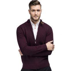 Sweter IVO SWAR000226. Czerwone swetry rozpinane męskie marki Giacomo Conti, na jesień, m, z bawełny. Za 199,00 zł.