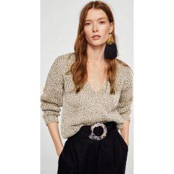 Swetry klasyczne damskie: Mango – Sweter Paper