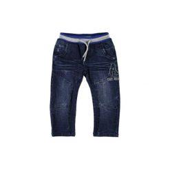 Name it Boys Spodnie Togo dark blue denim. Niebieskie spodnie chłopięce Name it, z bawełny. Za 125,00 zł.