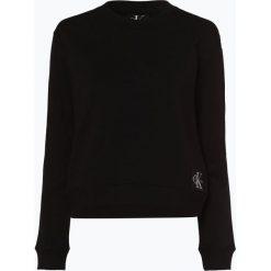 Calvin Klein Jeans - Damska bluza nierozpinana, czarny. Czarne bluzy sportowe damskie Calvin Klein Jeans, s, z jeansu. Za 349,95 zł.