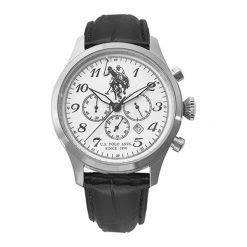 """Zegarki męskie: Zegarek """"USP4322ST_ST"""" w kolorze czarno-srebrnym"""