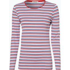 März - Damska koszulka z długim rękawem, czerwony. Brązowe t-shirty damskie marki Alma en Pena, z materiału, na obcasie. Za 199,95 zł.