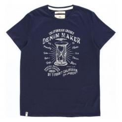 Timeout T-Shirt Męski, Xl, Ciemnoniebieski. Niebieskie t-shirty męskie Timeout, m. Za 58,00 zł.