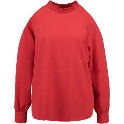 Bluzki asymetryczne: Second Female ANIS BLOUSE Bluzka red