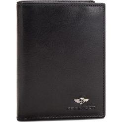 Duży Portfel Męski PETERSON - 08-02-01-01 Czarny. Czarne portfele męskie marki Peterson, ze skóry. Za 99,00 zł.