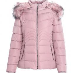 Różowa Kurtka Smaller. Czerwone kurtki damskie pikowane Born2be, na zimę, l, z kapturem. Za 139,99 zł.