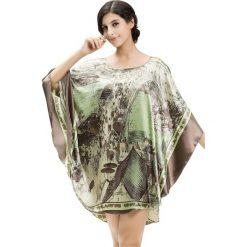 Koszule nocne i halki: Koszula nocna w kolorze khaki