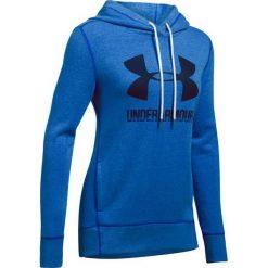 Bluzy sportowe damskie: Under Armour Bluza damska Favorite Fleece PO niebieska r. S (1302360-984)