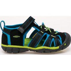 Keen - Sandały dziecięce. Szare sandały chłopięce marki Keen, z gumy, z okrągłym noskiem. W wyprzedaży za 219,90 zł.
