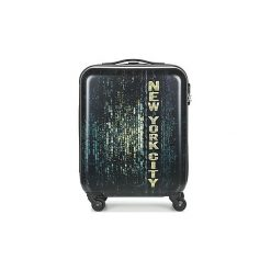 Walizki twarde David Jones  ORVILLETTE 84L. Czarne torebki klasyczne damskie marki David Jones. Za 255,20 zł.