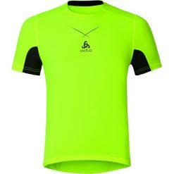 Odlo Koszulka tech. Odlo Ceramicool Shirt s/s crew neck rozmiar L żółty. Żółte koszulki sportowe męskie marki Odlo, l. Za 139,95 zł.