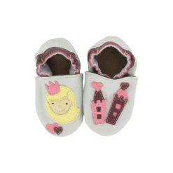 Buciki niemowlęce chłopięce: BaBice Buciki do raczkowania Księżniczka kolor jasnoszary